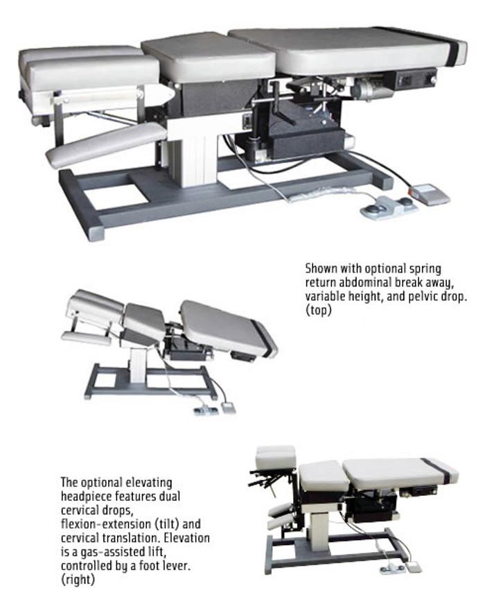 MT Tables - Electro-Flex Electric Automatic Flexion Table