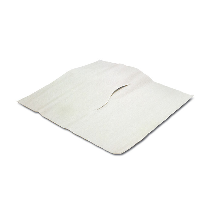 """ECONOMY HEADREST TISSUE, 12""""X12"""", WITH NOSE SLOT - 1000 SHEETS"""