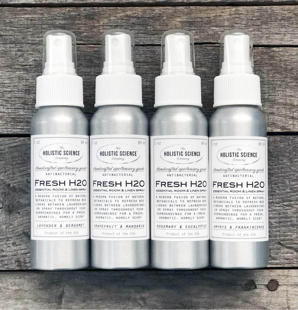 Fresh H20 Essential Room & Linen Spray (Rosemary & Eucalyptus)