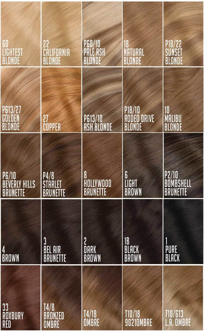 22 Clip In Hair Extensions Premium Remy Quality Hair Extensions