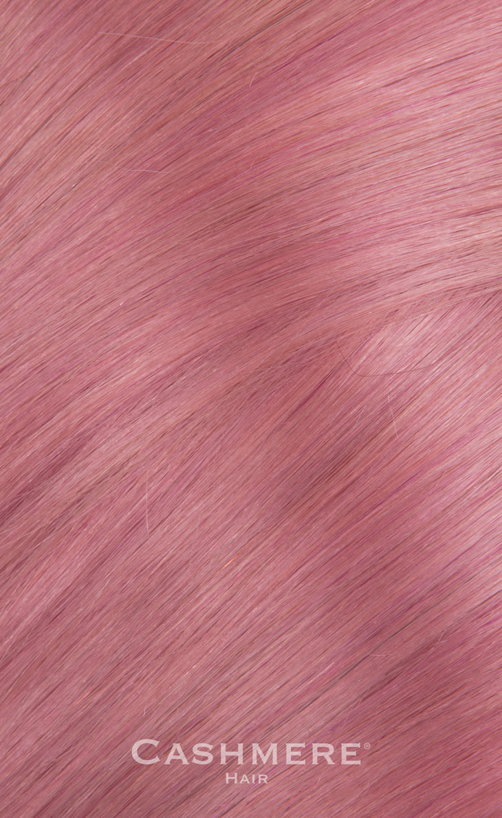 18 Peek A Boo Pink Clip In Hair Extensions