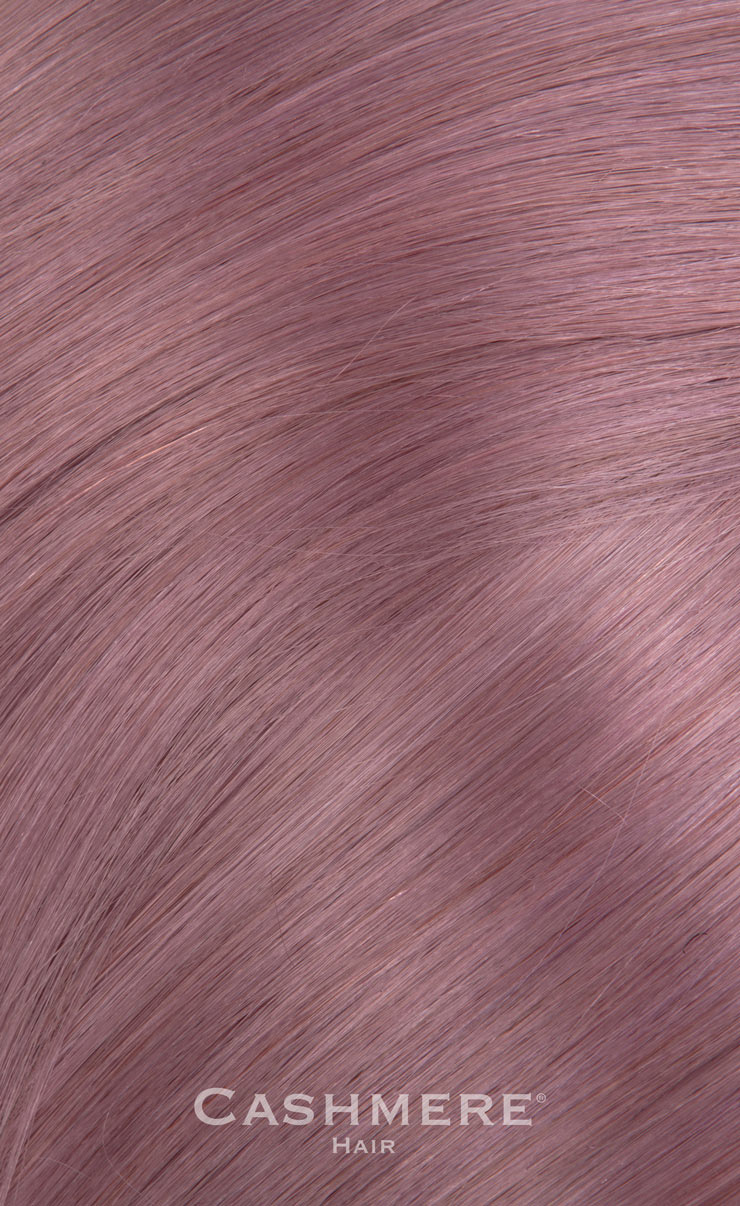 18 Peek A Boo Lavender Clip In Hair Extensions