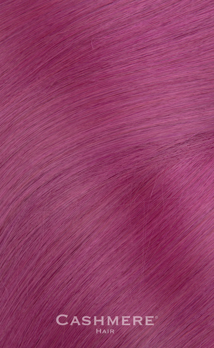 18 Peek A Boo Purple Clip In Hair Extensions