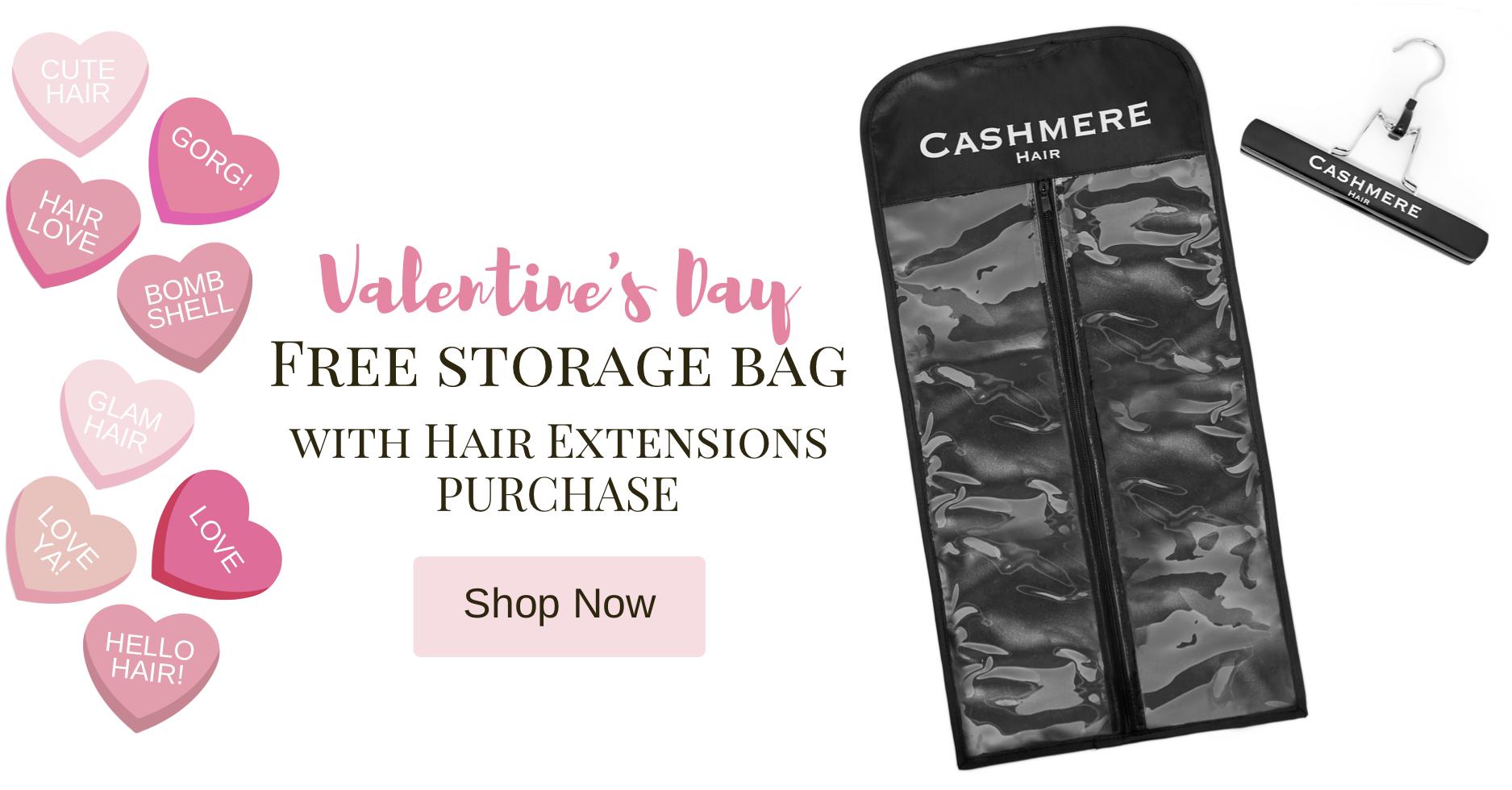 Valentine's Day Promotion- Free Storage Bag
