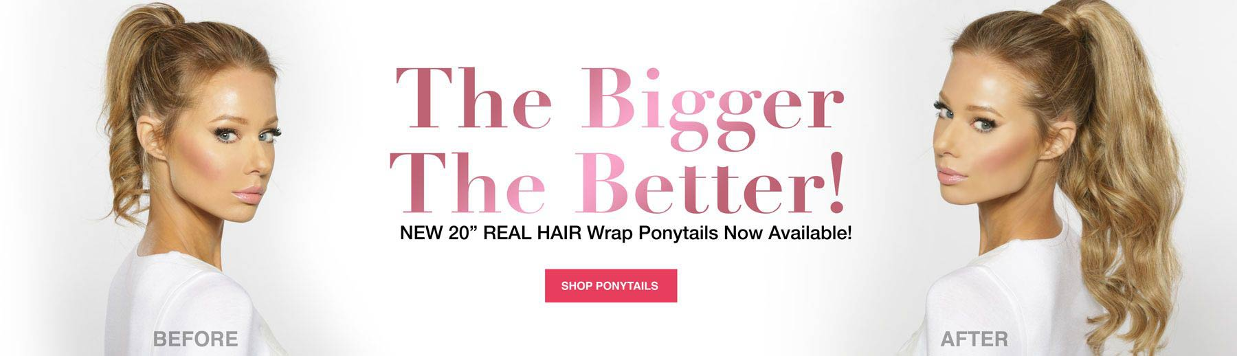 Shop our best quality clip-in extensions.