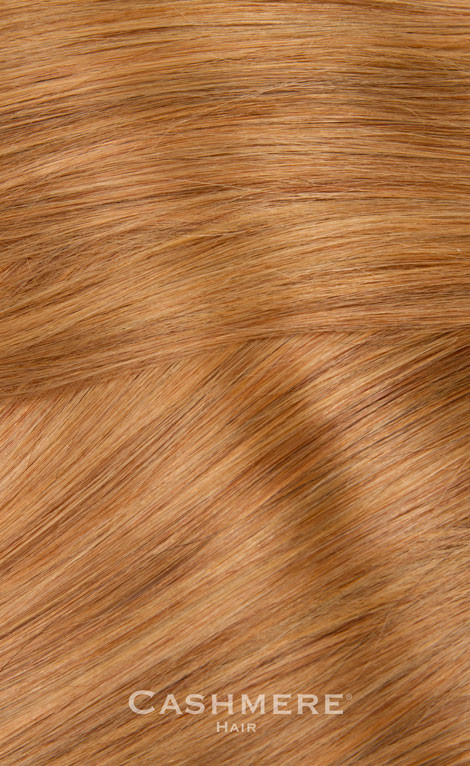 One Piece Hair Extension Copper Blonde 27