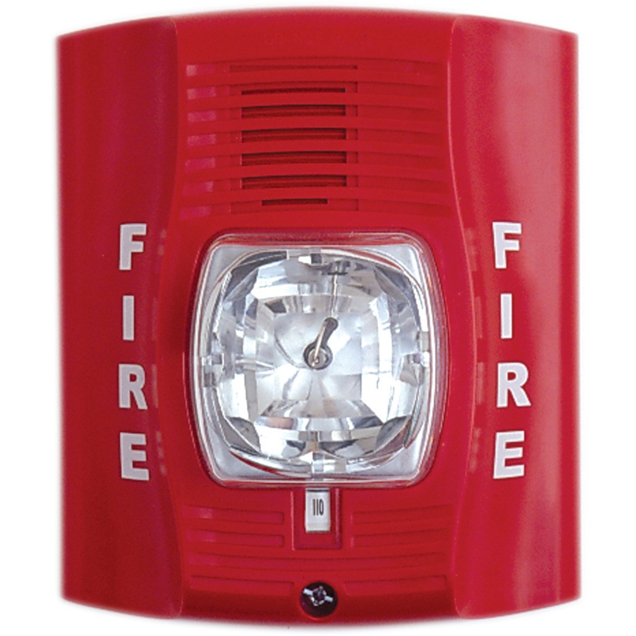 Fire Alarm Strobe Light Hidden Camera W Dvr Amp Battery
