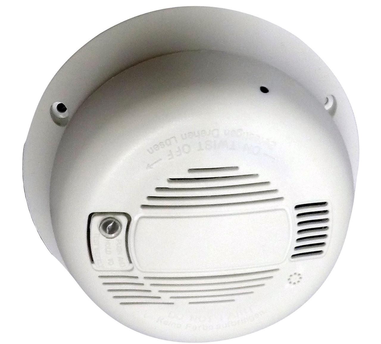 Smoke Detector Hidden Camera (Horizontal) w/ WiFi Internet Remote ...