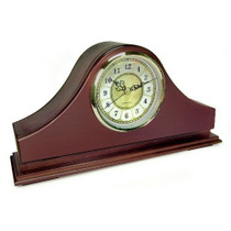 Mantle Clock Hidden Camera w/ DVR (90-Day Standby Battery)