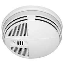 Smoke Detector Hidden Camera w/ DVR & Night Vision (90-Day Standby Battery)