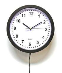 Wall Clock HD Hidden Camera w/ DVR