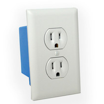 Wall Outlet Hidden Camera w/ DVR & WiFi Remote View (Hardwired)