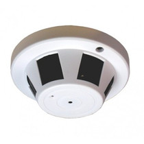WiFi Smoke Detector Camera (Horizontal) Digital Wireless Web Camera