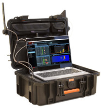 Delta X 2000/6 Real-Time Spectrum Analyzer 40KHz-6000 MHz Counter Surveillance Sweeping System