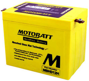 Motobatt MBHD12H 33Ah Battery