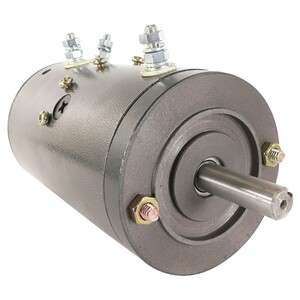 PUMP WINCH MOTOR 12Volt /Bar Key Slot /.625 Shaft