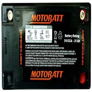 Motobatt MBTX20U (HD) 21Ah Battery