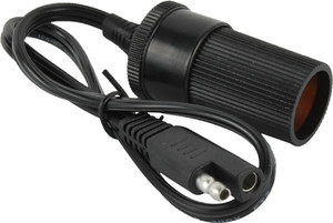 MotoBatt 1ft. 6in. 18AWG Cable Lead with Female Cigarette Socket