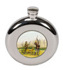 round shooting hip flask, Gift