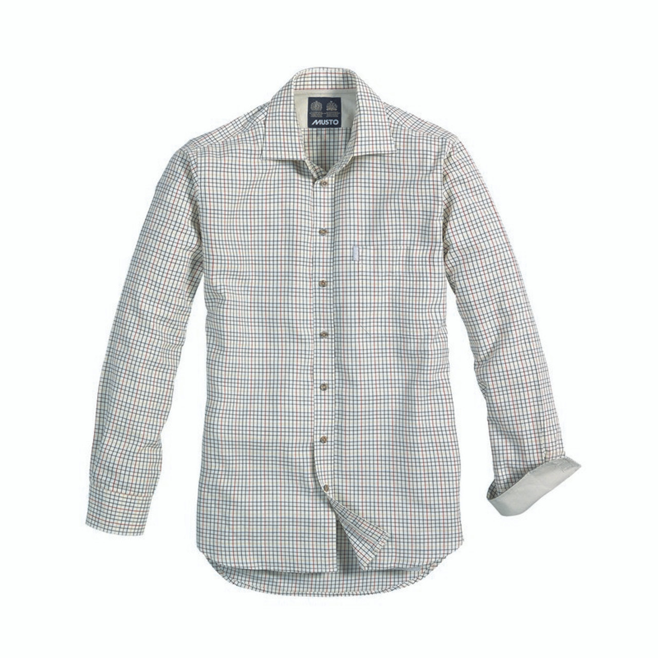 Best price for Musto Twill Check Shirt, Available in various colours, on sale from Bradford Stalker.