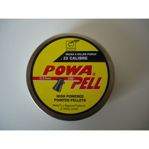 Best price for Webley Powerpell .22 Pellets, on sale at Bradford Stalker