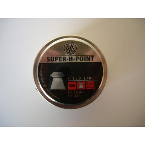 Best price for RWS Super Point .22 Pellets, on sale at Bradford Stalker