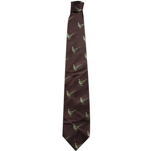 Best price for Silk Pheasant Tie Burgundy, on sale at Bradford Stalker