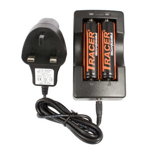 Best price for Charger for two18650 / BA7854 Batteries