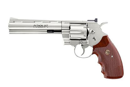 Best price for Umarex Colt Python 357 Nickel 6""