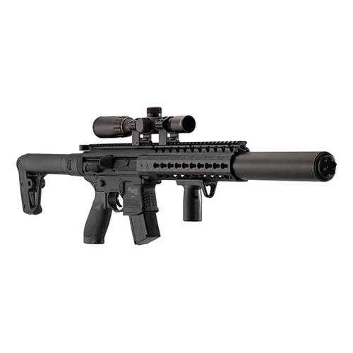 Sig Sauer MCX Air Rifle Black .177 Pellet inc 1-4x24 Scope
