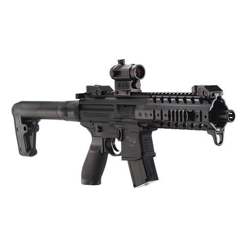 Sig Sauer MPX Air Rifle Black .177 Pellet inc Red Dot