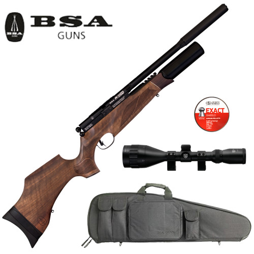 BSA R10SE Super Carbine WalnutPackage