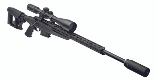 Howa Aussie Precision shown with LUTH-AR rear stock