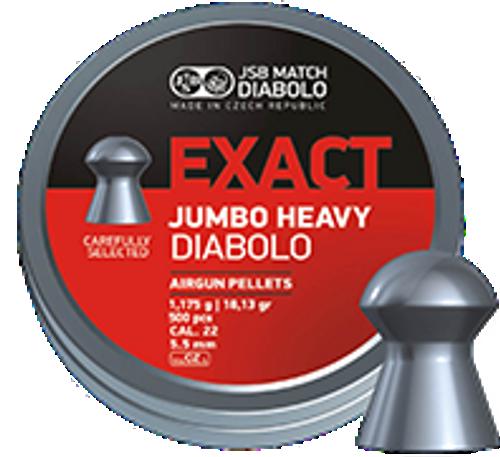 JSB Exact Jumbo Heavy .22