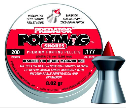 JSB Predator Polymag Shorts .177 Pellets