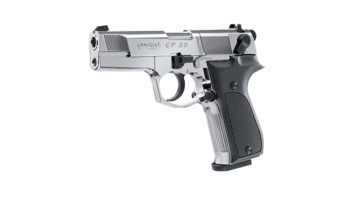 Umarex CP88 Polished Chrome CO2 Pistol
