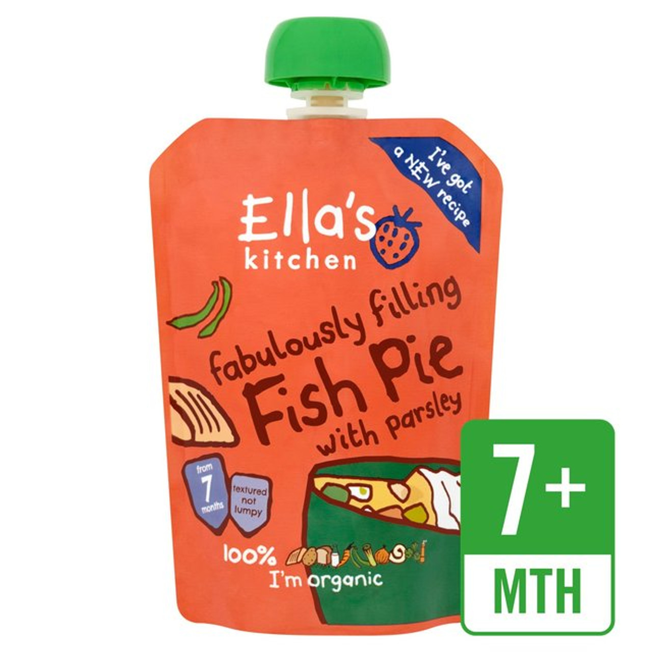 ellas kitchen fabulously filling fish pie 130g - Ellas Kitchen