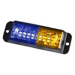 Blue Amber Strobe Lights