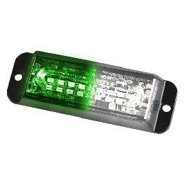 Green White Strobe Lights