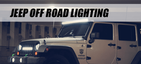 Jeep Off Road Lights