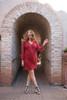women's bohemian clothing indie fashion silk indie dresses Emmy dress long midi length