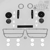 Mopar B Body 72 Roadrunner Satellite Paint Exterior Gasket Set