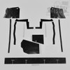 Mopar B Body 66 Charger MEGA Splash Shields Set -Manual