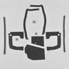 Mopar B Body 70 Belvedere GTX Roadrunner Satellite MEGA Splash Shield Set -Manual
