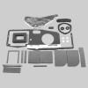 Mopar  E Body 70-74 BASIC AC Heater Box Rebuild Restoration Seal Gasket Kit
