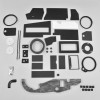 Mopar A Body 63-66 BIG AC Heater Box Rebuild Restoration Seal Gasket Kit