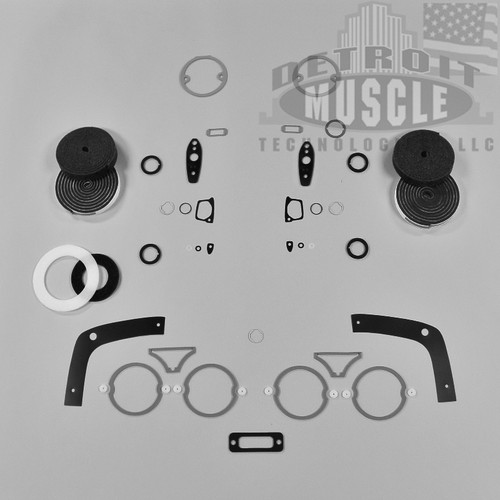 Mopar B Body 68 Charger Paint Exterior Gasket Set