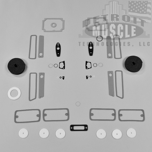 Mopar A Body 71 Dart Paint Exterior Gasket Set