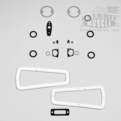 Mopar B Body 1968 68 Coronet Paint Exterior Gasket Set BASIC