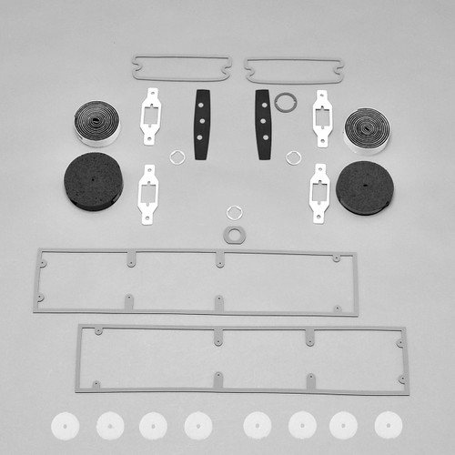 Mopar B Body 72 Charger Rallye Paint Exterior Gasket Set